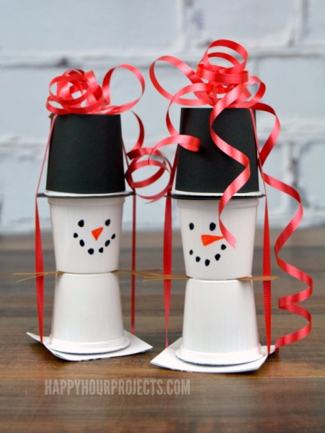 Snowman Kcup Crafts