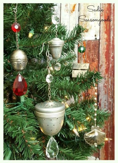 Vintage Tea Strainers Ornaments