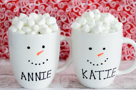 Christmas Mugs Design Ideas You Can Do It Yourself - A DIY Projects