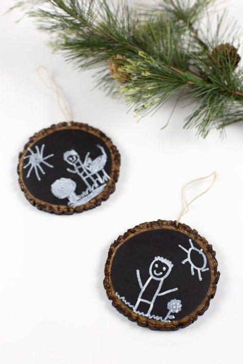 Keepsake Chalkboard Ornaments