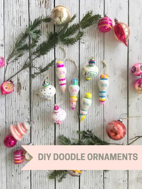 Doodle Ornaments