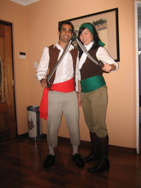 Pirate Couples Halloween Costume