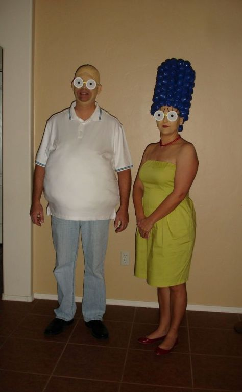 Simpsons Couples Halloween Costumes