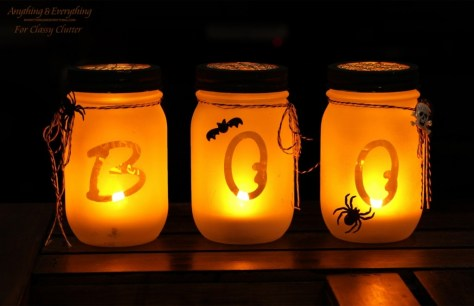 Mason Jar Luminarias Decoration