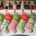 Christmas Stockings – 50 DIY Fabulous Ways To Decorate Your Home