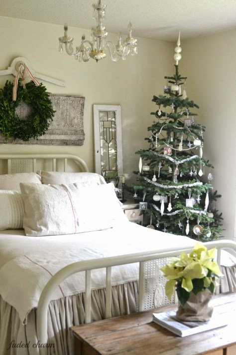Christmas Bedroom Porches