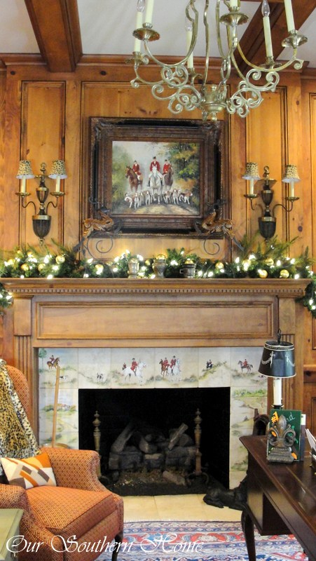 Tiled Fireplace Decorations