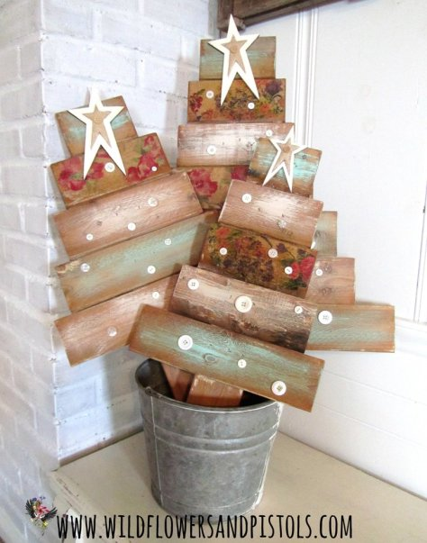 Wood Pallet Christmas Trees
