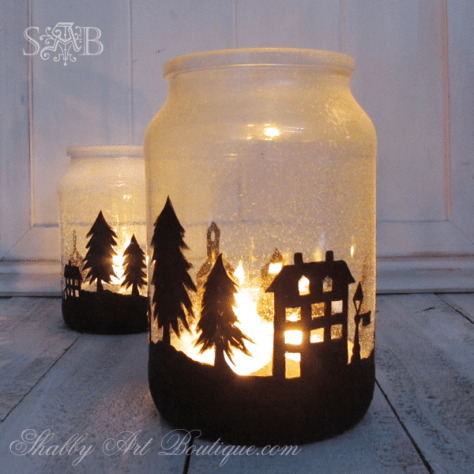 Boutique Township Candle Holder