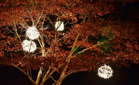 Lighted Christmas Balls For Outdoor Tree