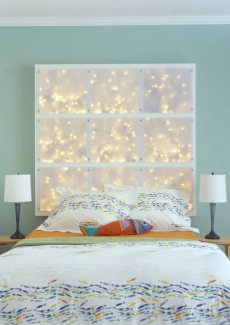 Headboard With LEDs