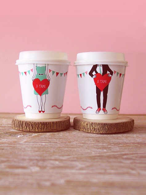 Coffee Cup Wrappers