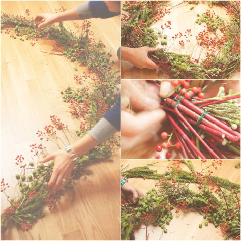 Floral Advent Wreath