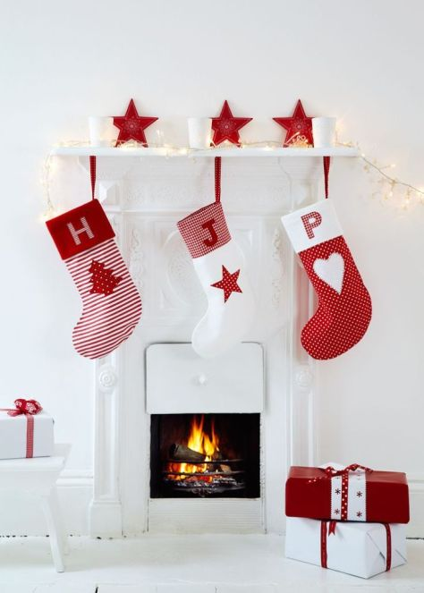Hand Sewn Christmas Stockings