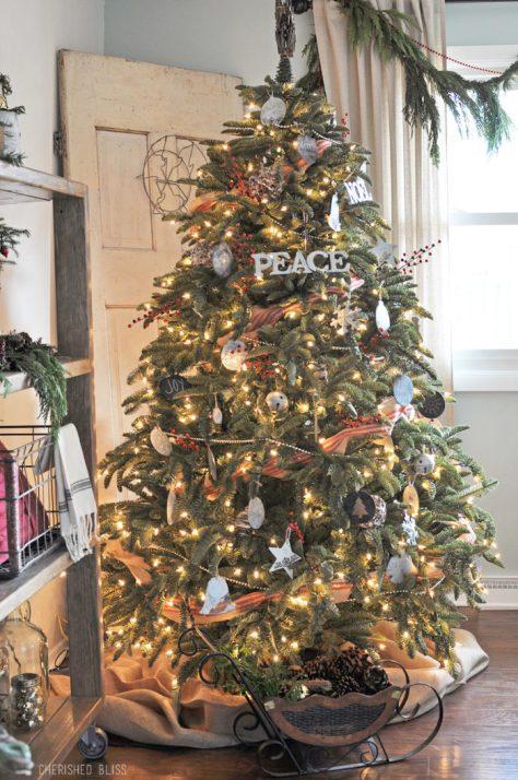 Industrial Farmhouse Christmas Tree