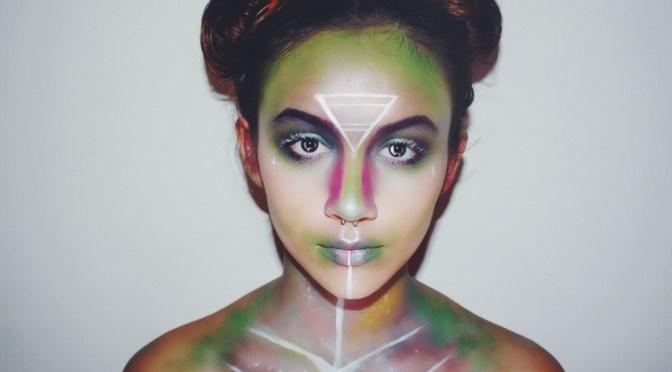 Alien Halloween Makeup