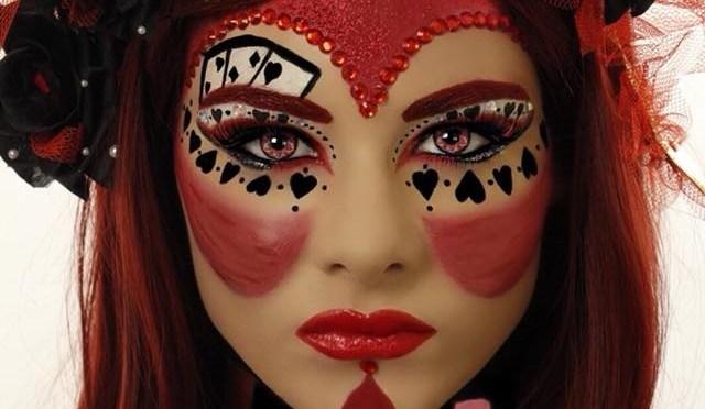 Red Queen (Queen of Hearts) Halloween Makeup Tutorial