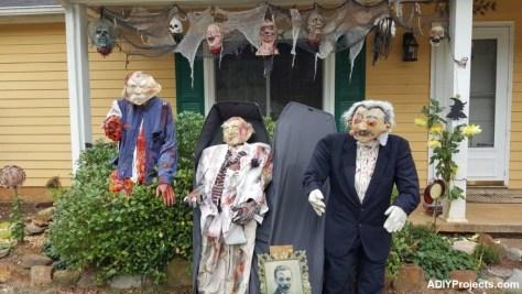 Zombies Funeral Halloween Decorations
