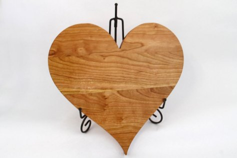 Handcrafted Wood Valentines Day Heart
