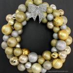 Gold Christmas Wreaths – 10 DIY Ideas to add Style in Decoration