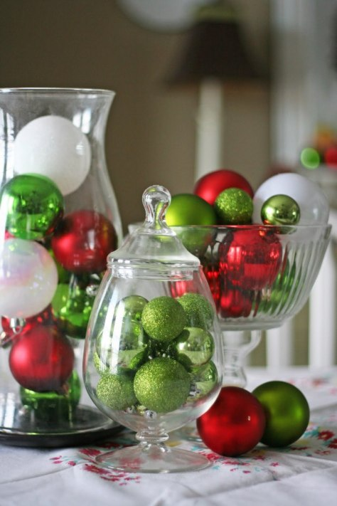 Ornaments Centerpiece