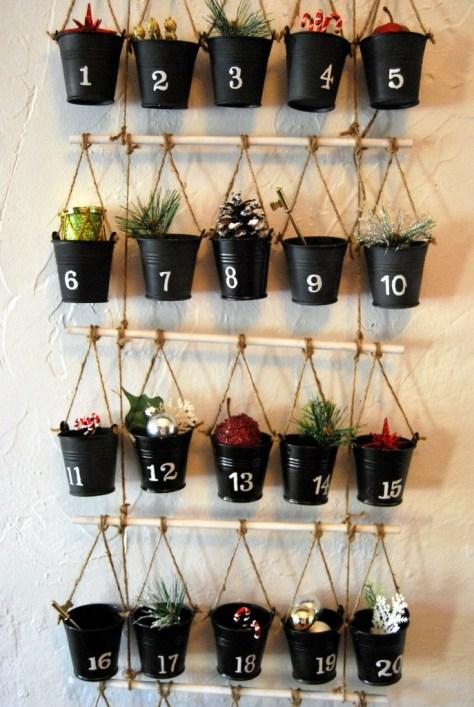 Hanging Platter Advent Calendar