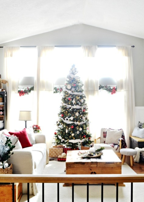 Warm Living Room Decor