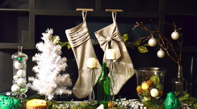 His & Her Christmas Stockings