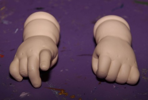 Doll Hands Labyrinth Costume