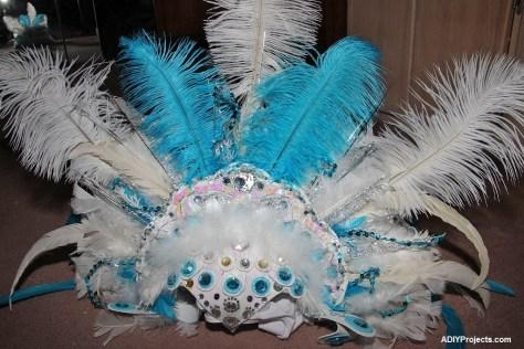 Ice Phoenixes Halloween Costume Headpiece