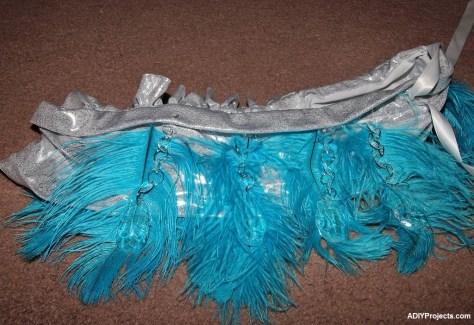 Ice Phoenixes Halloween Costume Neckpiece