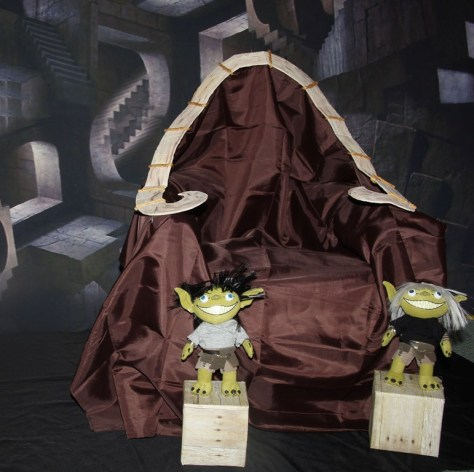 Labyrinth Costume Throne