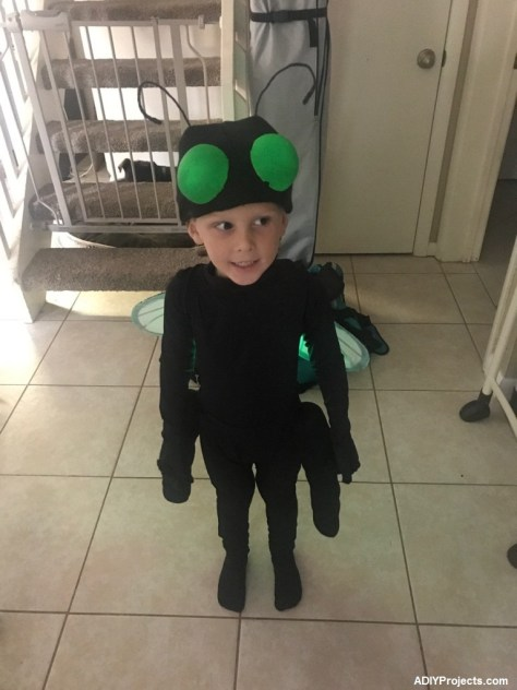 Lightning Bugs Halloween Costume for Boy