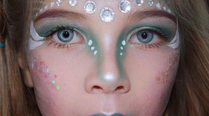 Mermaid Halloween Makeup For Kids