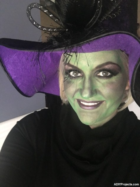 Witch Halloween Makeup
