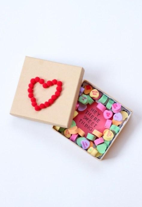 Valentine Candy Box