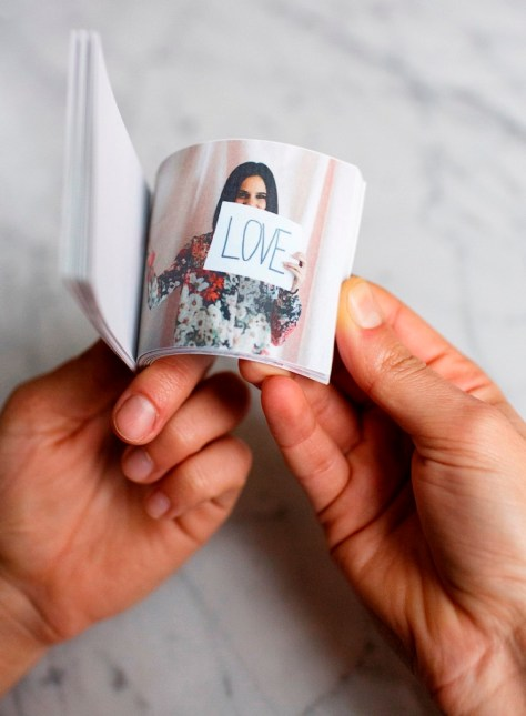 Photo Flip Book With Photos Of You And Your Valentine