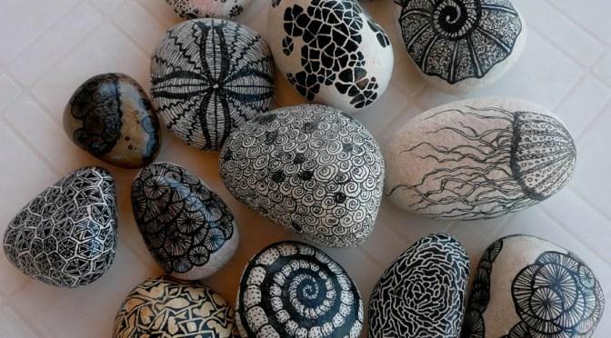 Sharpie Rocks