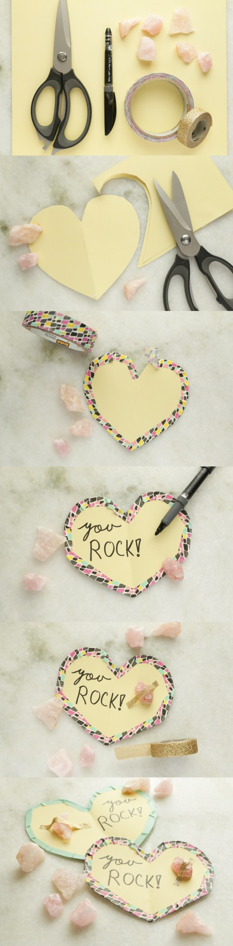 Calcite Rock Valentines Tutorial