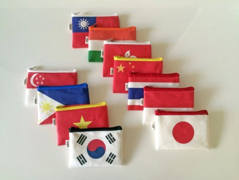 Coin Purse for Foreign Currency
