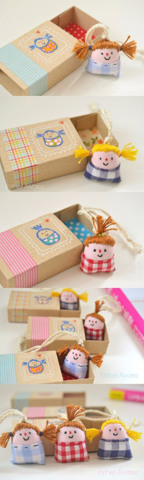 DIY Miniature Dolls With Beds