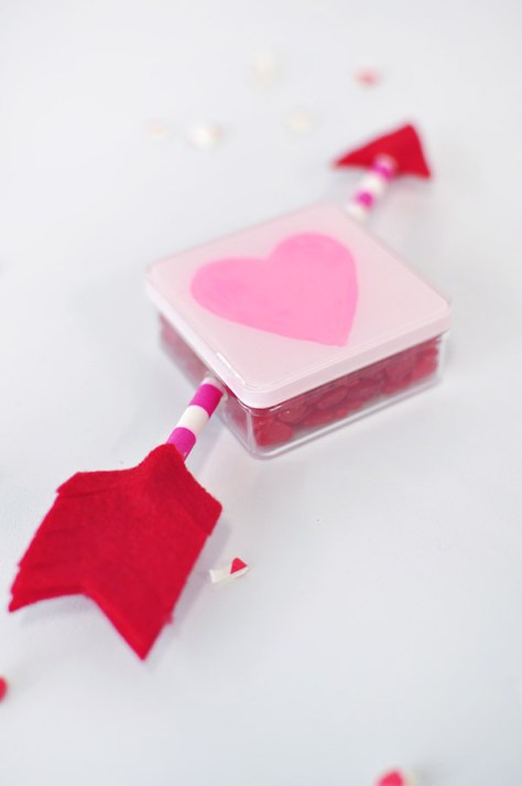 Heart Painted Candy Box