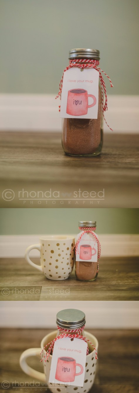 Hot Chocolate V Day Gift Tutorial