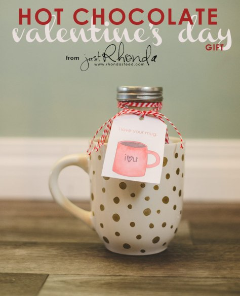 Hot Chocolate V Day Gift