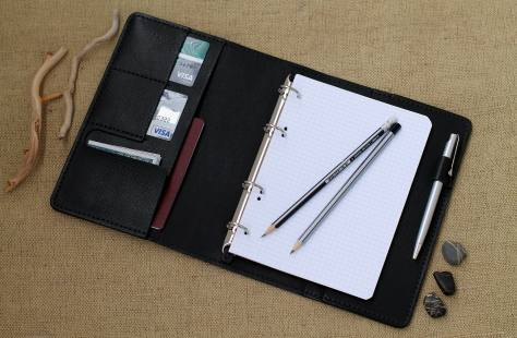Leather Organizer For Travel Accessories