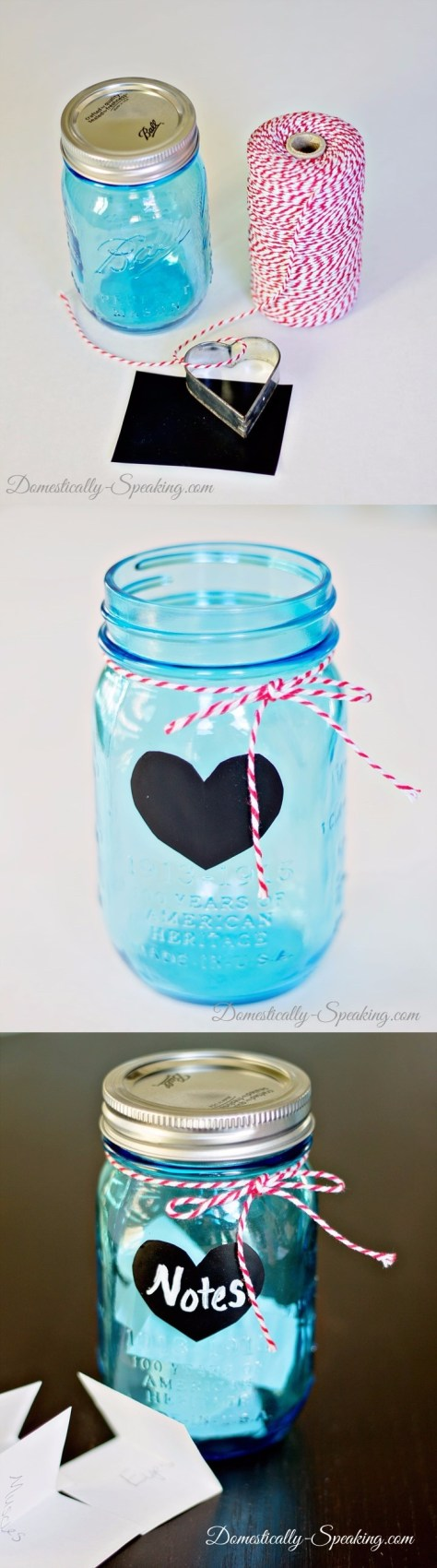 Love Notes Jar Tutorial