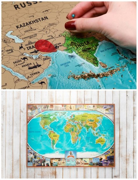 Map Gifts For Travelers