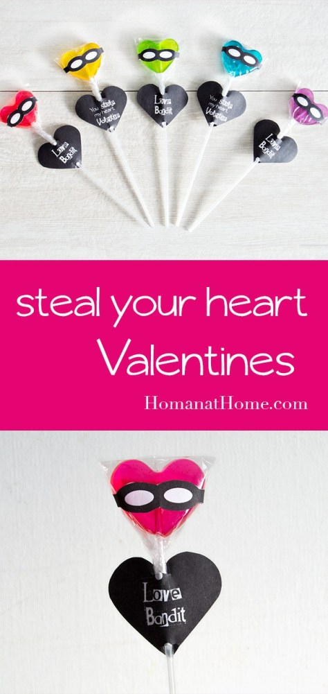 Steal Your Heart Lollipop Valentines Tutorial
