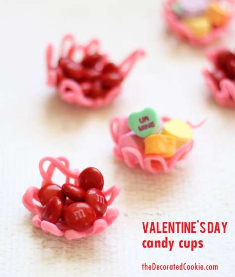 Valentine's Day Candy Cups