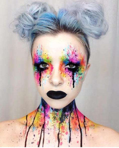 Colored Makeup